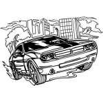Muscle Car Sticker 46