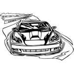Muscle Car Sticker 62