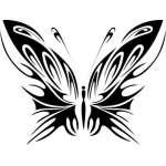 Butterfly 32 Sticker