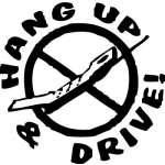 Hang up an Drive Sticker