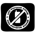 No Phone Zone 6 Sticker