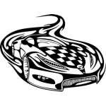 Racing Sticker 64
