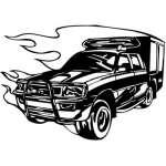 Special Vehicle Sticker 2
