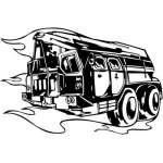 Special Vehicle Sticker 15