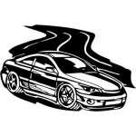 Street Racing Sticker 3
