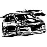 Street Racing Sticker 92