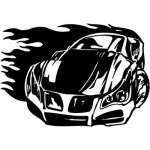 Street Racing Sticker 105
