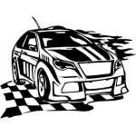 Street Racing Sticker 108