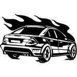 Street Racing Sticker 133