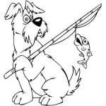 Cartoon Dog Sticker 92