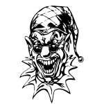 Clown 24 Sticker