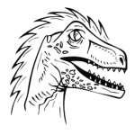 Dinosaur 21 Sticker