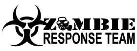 Zombie Response Team Sticker 2
