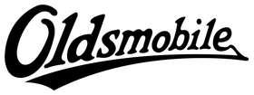 Oldsmobile Logo Sticker