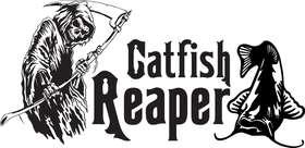 Catfish Reaper Sticker 2