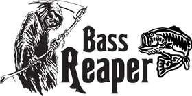 Bass Reaper Sticker