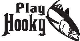 Play Hooky Tuna Fishing Sticker