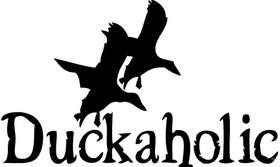 Duckaholic 2 Sticker