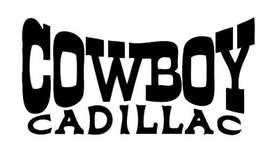 Cowboy Cadillac Sticker