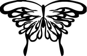 Butterfly 21 Sticker