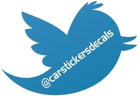 Twitter Username Sticker 2