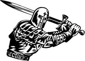 Crusader  Sticker 41