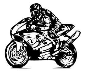 Superbike Sticker
