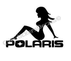 Polaris Girl Sticker