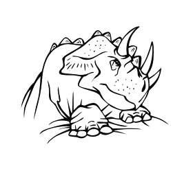 Dinosaur 2 Sticker
