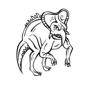 Dinosaur 11 Sticker