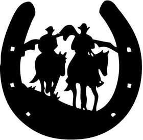 Cowboy 14 Sticker
