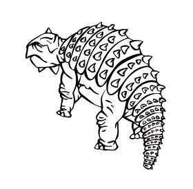 Dinosaur 23 Sticker