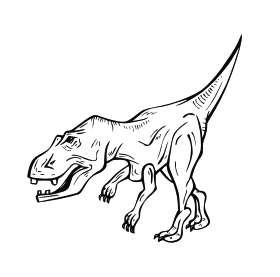 Dinosaur 15 Sticker