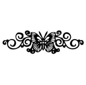 Butterfly 12 Sticker