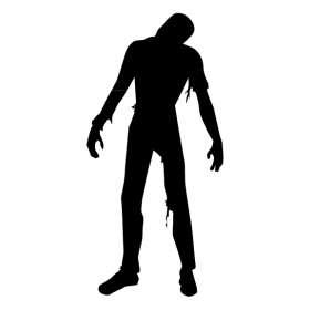 Zombie Man Sticker 2