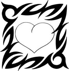 Heart Sticker 102