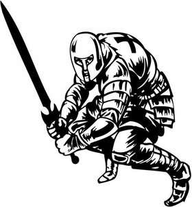 Crusader  Sticker 30