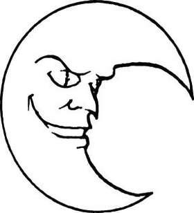 Moon Sticker 16