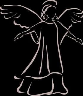 Angel Sticker 1045