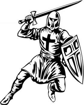 Crusader  Sticker 67