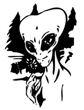 Alien Sticker 16