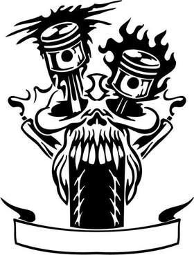 Tribal Bike Sticker 23