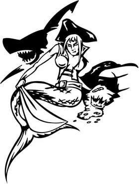Pirate Sticker 11
