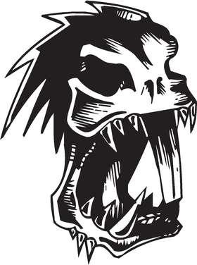 Aggressive Creature Sticker 5