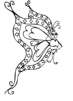 Butterfly 10 Sticker