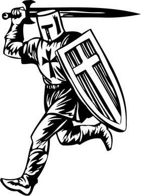 Crusader  Sticker 81