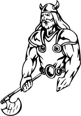 Viking Sticker 95