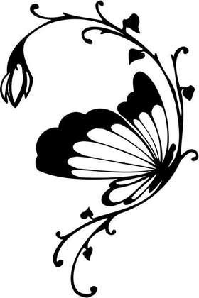 Tribal Flower Sticker 321