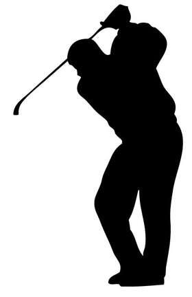 Golf Swing Sticker