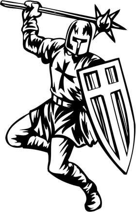 Crusader  Sticker 10